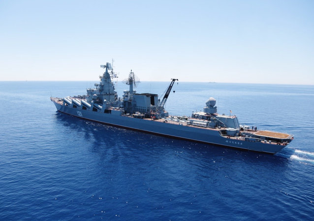 File Photo: Russian-Chinese drills Joint Sea-2015 in the Mediterranean