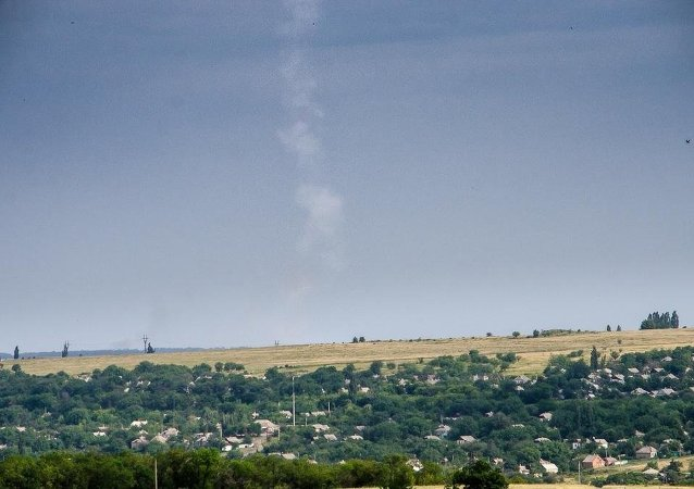 The image cited in some quarters as evidence that MH17 was shot down by a BUK missile