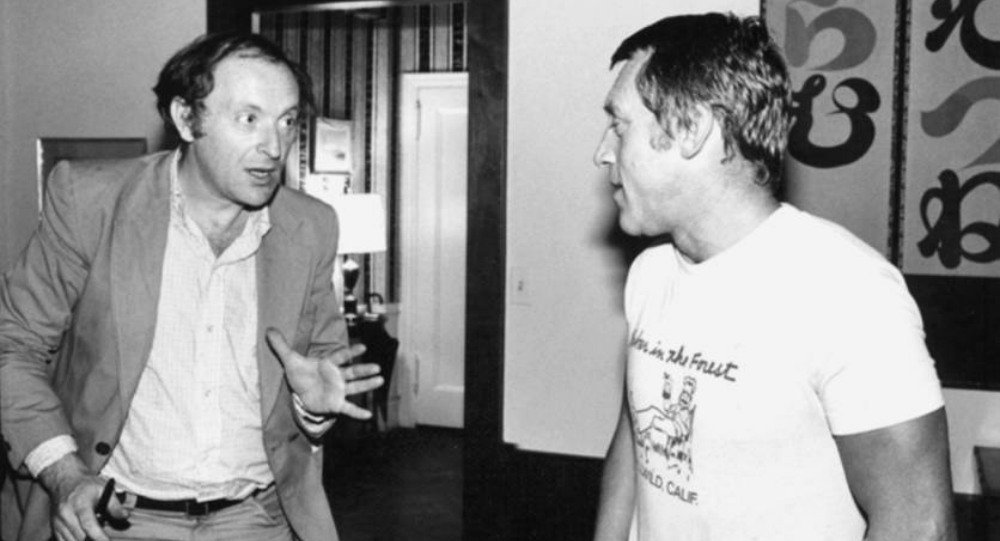 Joseph Brodsky and Vladimir Vysotsky in New York City, 1977