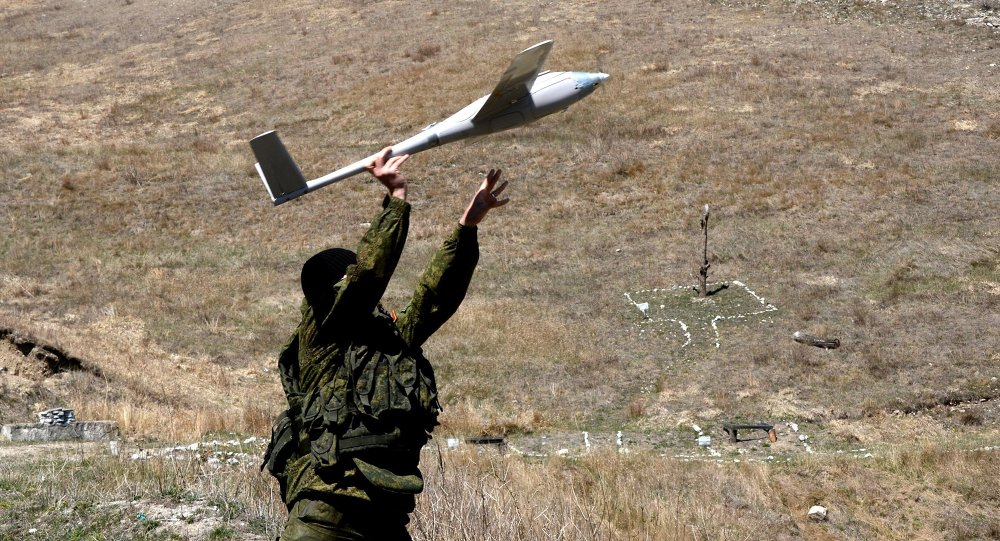 The armed forces of Russia and Tajikistan used drones in their joint military drills near the Tajik capital of Dushanbe, an aide to the Central Military District's commander, Col. Yaroslav Roshchupkin, said Monday.