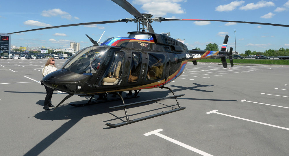 Bell 407 GX helicopter