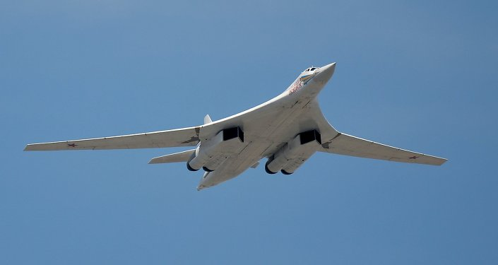 The Tupolev Tu-160 Blackjack strategic bombers