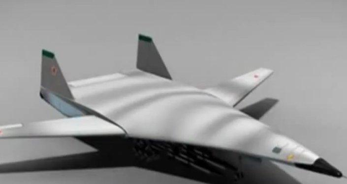 PAK-DA Russian 5th generation bomber concept art