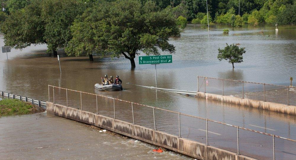 Flood in Texas