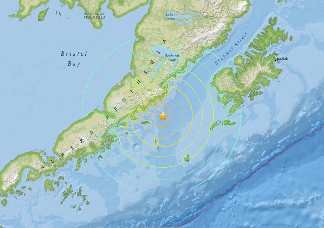 A 6.8-magnitude earthquake has struck the coast of Alaska