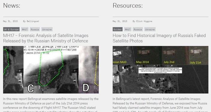 MH17 – Forensic Analysis of Satellite Images Bellingcat