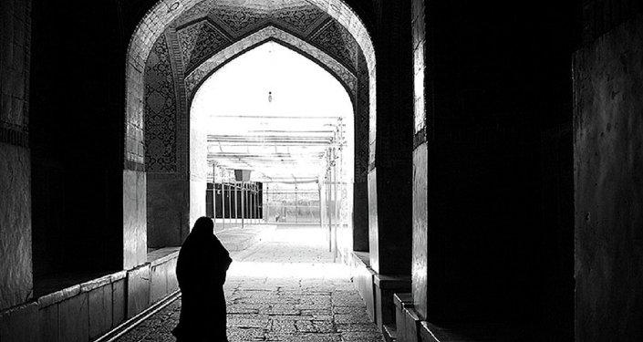 A woman in hijab