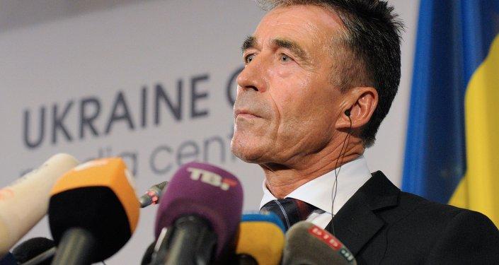 Press briefing by NATO Secretary General Anders Fogh Rasmussen in Kiev
