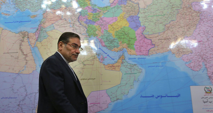 Secretary of Iran's Supreme National Security Council, Ali Shamkhani