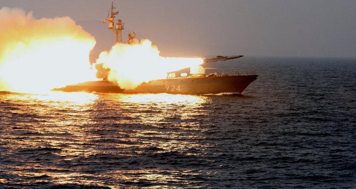 A Moskit supersonic anti-ship missile