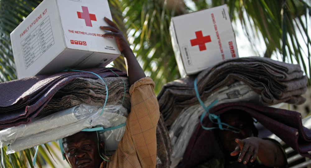 The American Red Cross mission in Haiti
