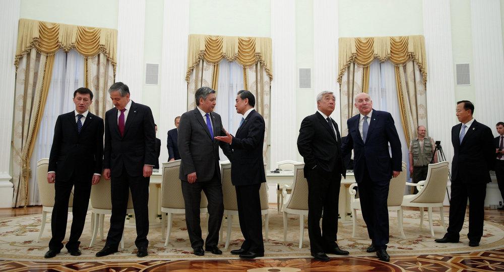Meeting of foreign ministers of the Shanghai Cooperation Organization