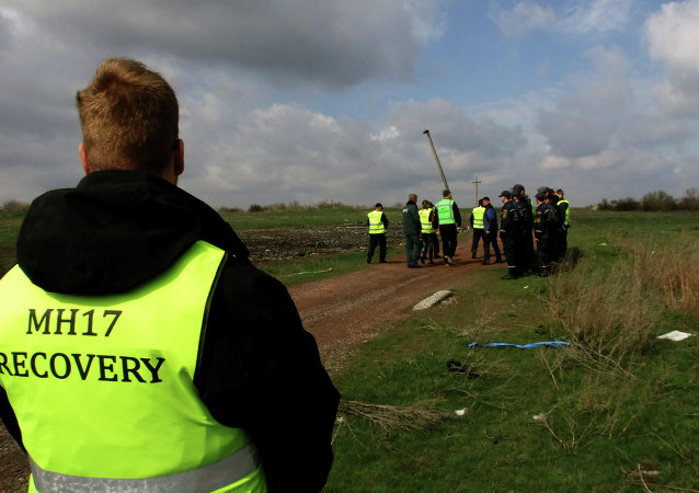 Dutch and Malaysian experts visit site of Malaysia Airlines flight MH17 plane crash