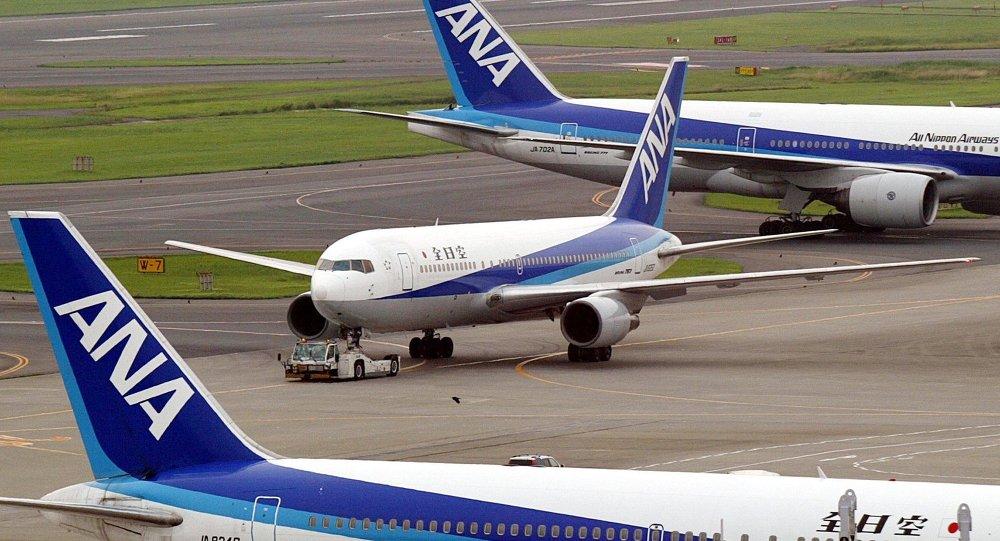 All Nippon Airways (ANA) jetliner, Boeing 767