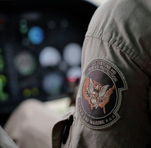 A US Customs and Border Protection Air and Marine
