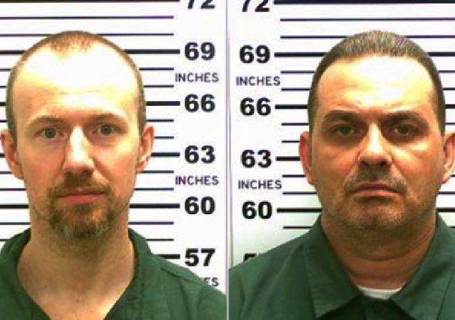 Mug shots of Richard Matt and David Sweat released by police