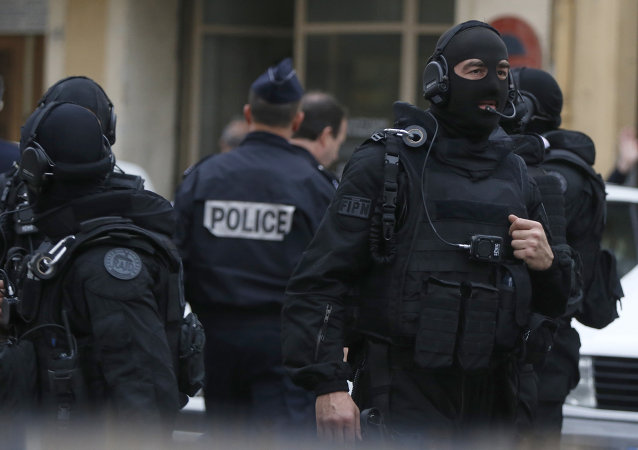 French RAID (Research, Assistance, Intervention, Deterrence) police