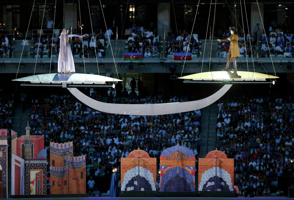 How the New Era in Sports Began: Opening Ceremony of European Games in Baku