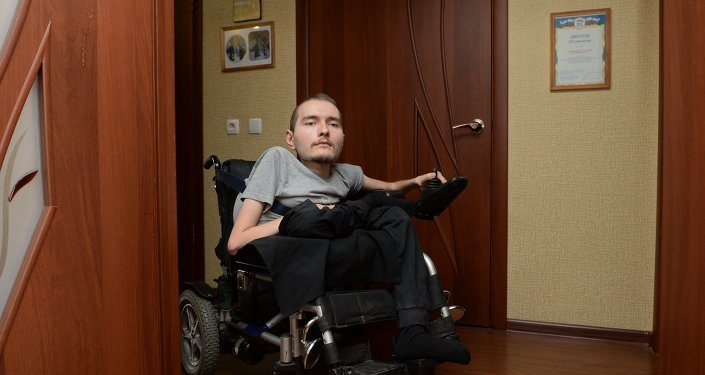 Russian Valery Spiridonov who agreed to the world's first ever operation on human head transplant