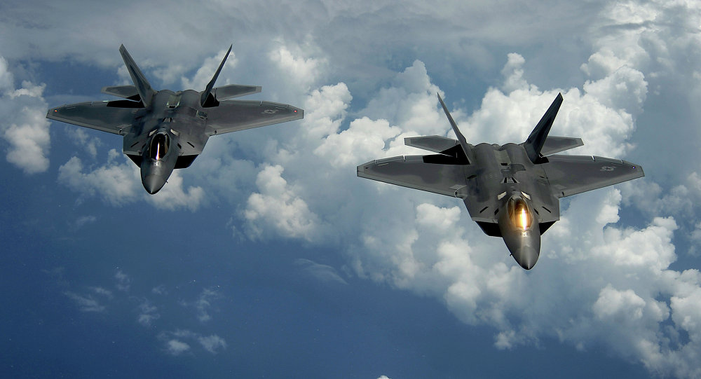 Pentagon Confirms Fifth-Generation Fighter Jets Used in