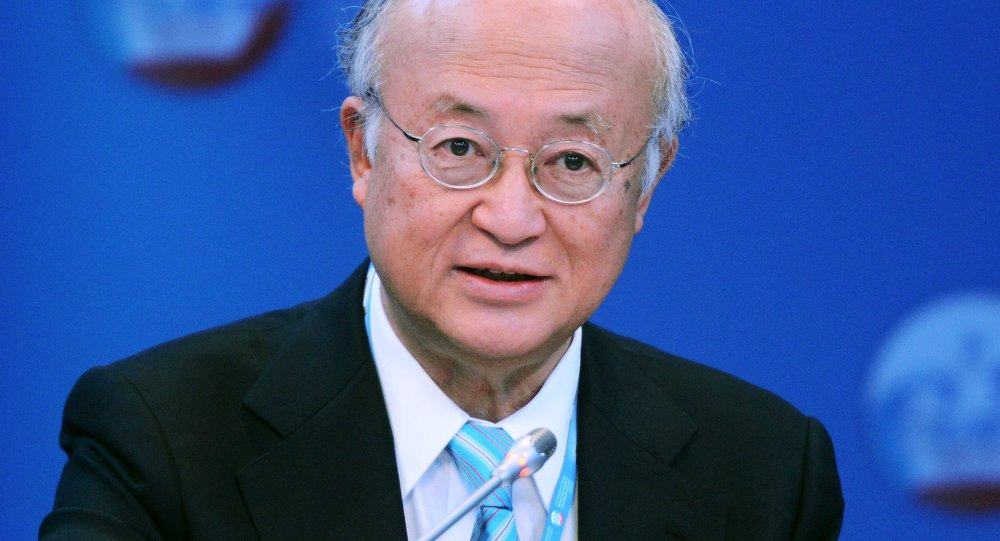 Yukiya Amano, Director General of the International Atomic Energy Agency (IAEA), at the panel session, Nuclear Power in The New Global Energy Mix, held at the 2015 St. Petersburg International Economic Forum