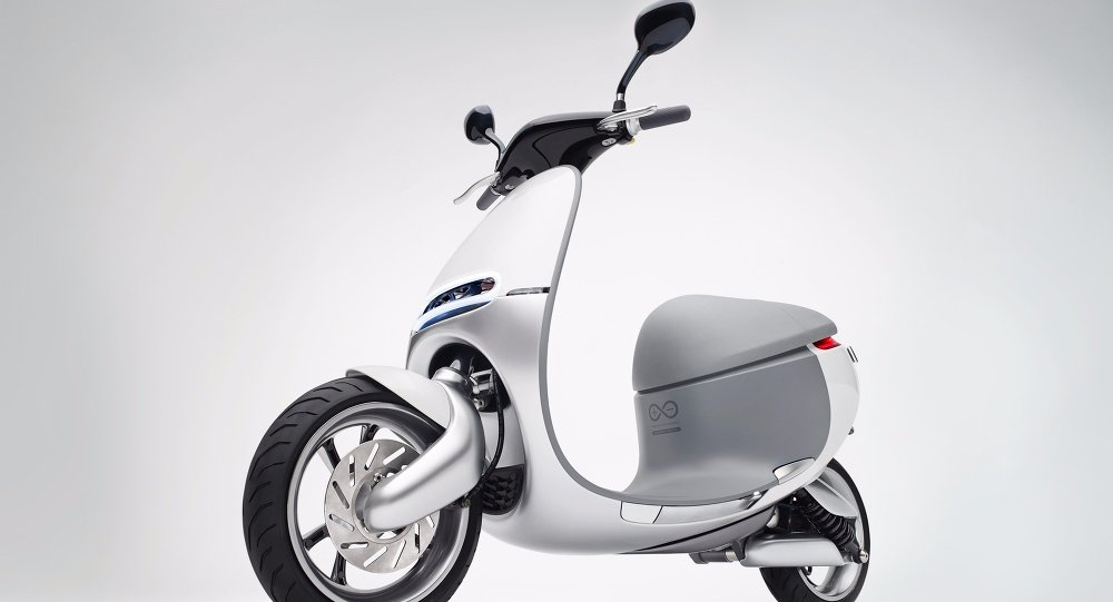 The Smartscooter, made by the Taiwan-based company Gogoro
