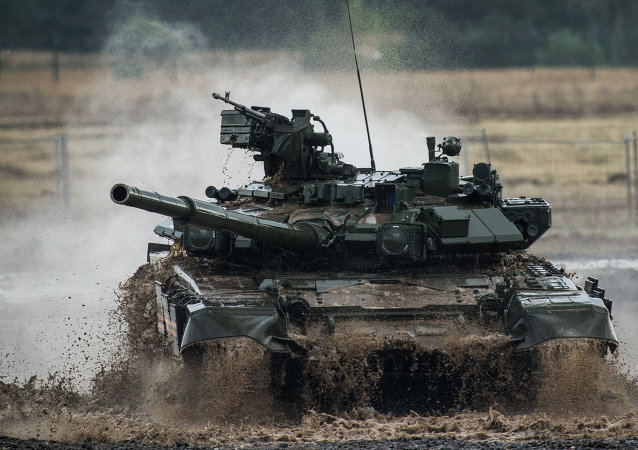Russia's T-90 battle tank