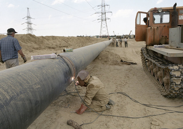 A new gas pipeline.