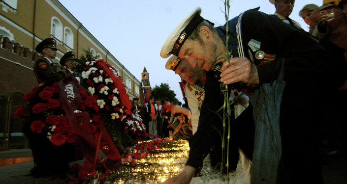 Russia Holds Sacred Memory of Those Heroes Who Fought Against Nazism, Putin Says