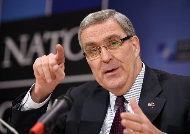 US Ambassador to NATO Douglas Lute