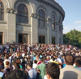Rally in Yerevan