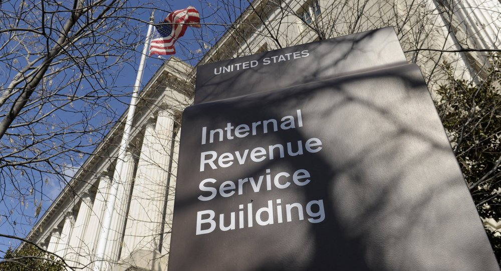This March 22, 2013 file photo shows the exterior of the Internal Revenue Service building in Washington
