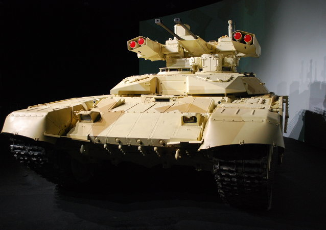 Tank support fire fighting vehicle Terminator-2