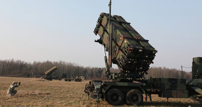 U.S. troops from 5th Battalion of the 7th Air Defense Regiment are seen at a test range in Sochaczew, Poland, on Saturday, March 21, 2015