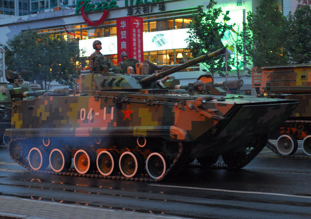 Tanks in Beijing