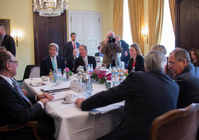 Quartet on the Middle East meeting. File photo