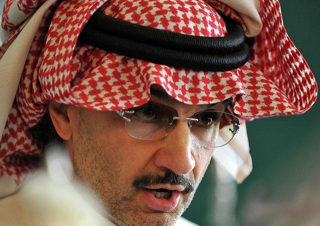 Saudi billionaire owner of Kingdom Holding Company Prince Alwaleed bin Talal