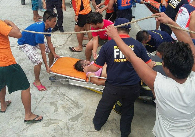 Ferry Sinks Off Central Philippines