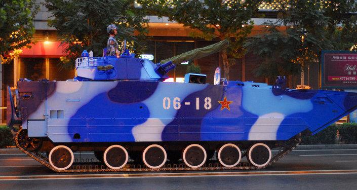 Tanks in Beijing