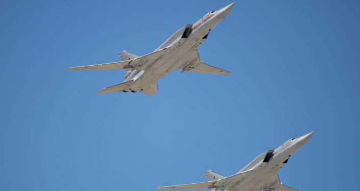 Tupolev Tu-22M3 Backfire strategic bombers