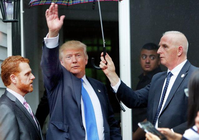 Trump: Tough on Immigration, Tough on Precipitation