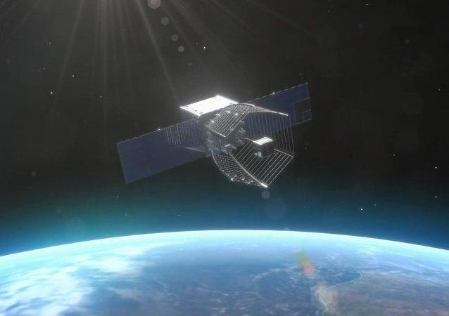 Pac-man spacecraft
