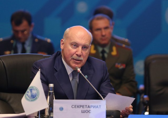 SCO Secretary-General Dmitry Mezentsev