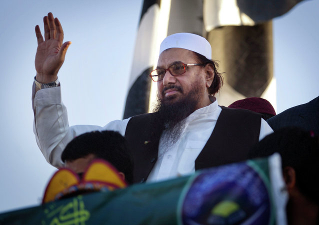 Hafiz Saeed, the leader of the Islamic State terror group in Afghanistan