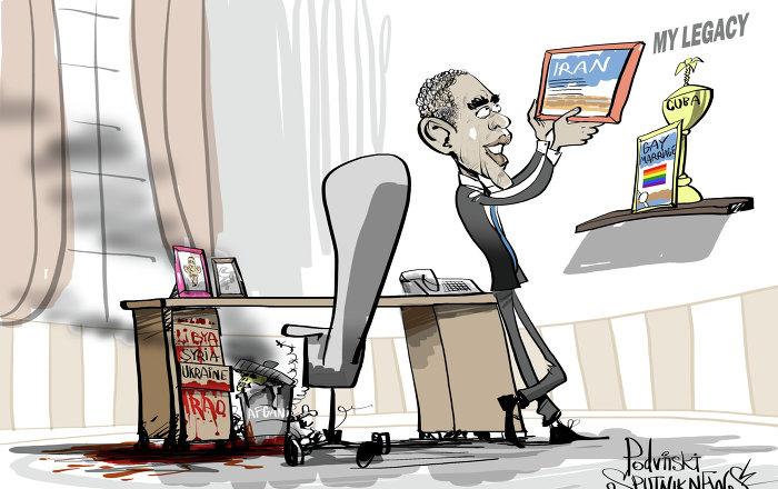 Image result for obama's legacy cartoons