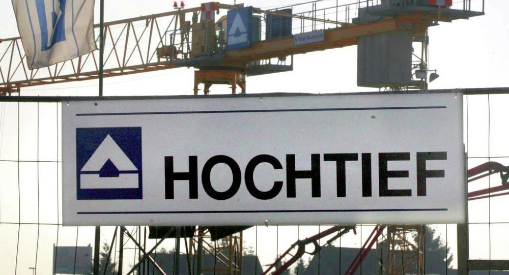 Hochtief, a German construction company
