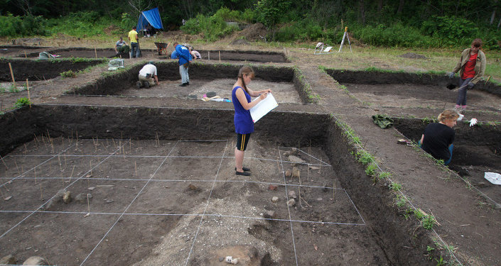 Currently, over 50 archaeologists and university students are working at the site dubbed Turtle-7.