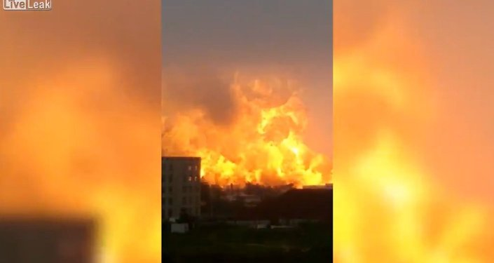 Massive Explosion at Chinese PetroChemical Plant