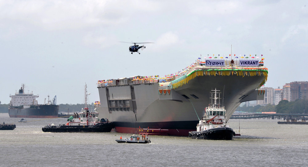 New Aircraft Carrier 2020 Indian Navy Hopes New Aircraft Carrier 'Vikrant' Will Join Fleet