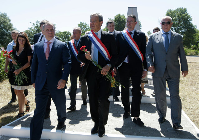 French MPs delegation visits Sevastopol